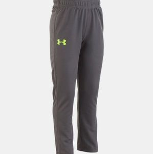Under Armour Storm Black & Neon Green Logo Pants